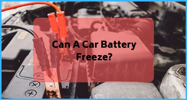 Can A Car Battery Freeze