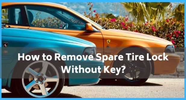 How to Remove Spare Tire Lock Without Key_