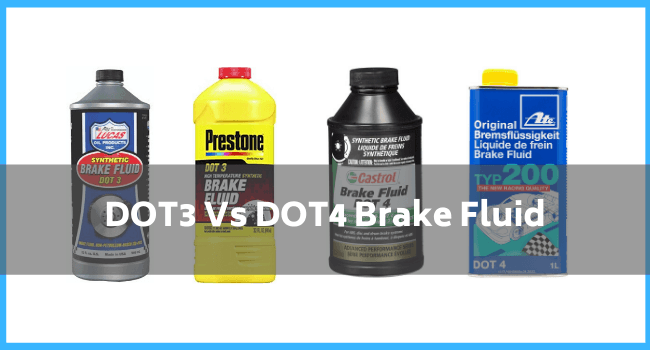Difference Between DOT 3 And DOT 4 Brake Fluid