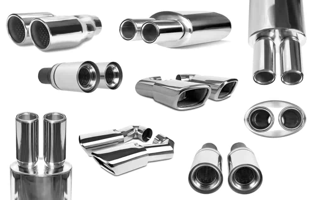 Types of Exhaust Tips